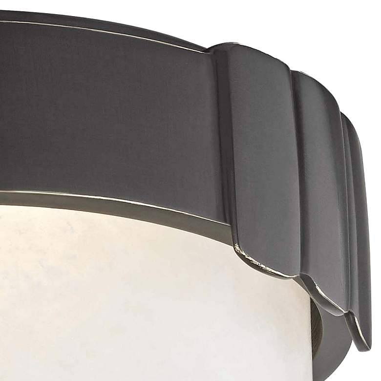 "Hudson Valley Beckett 6"" Wide Old Bronze LED Ceiling Light more views"