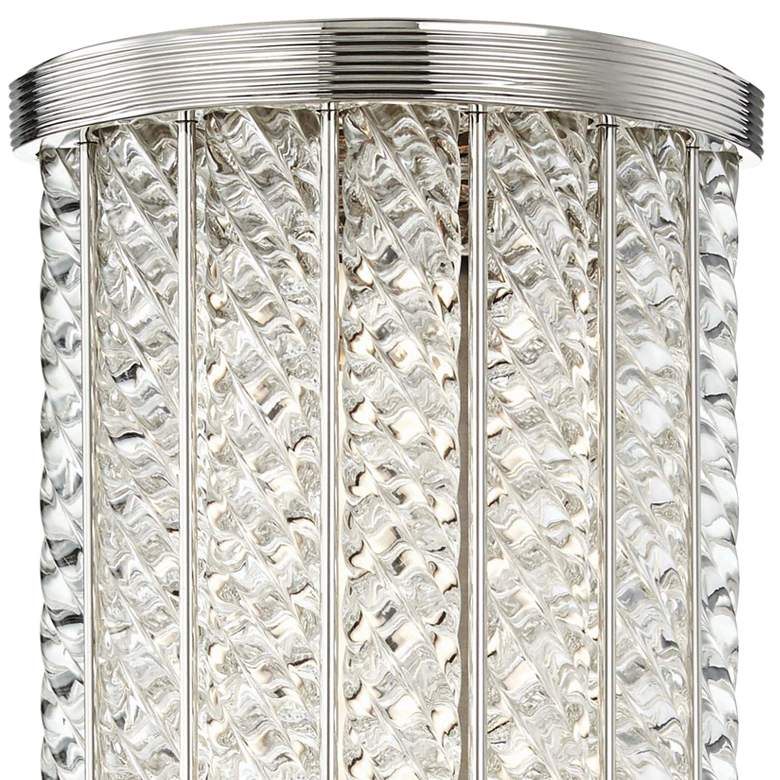 "Hudson Valley Shelby 14""H Polished Nickel LED Wall Sconce more views"