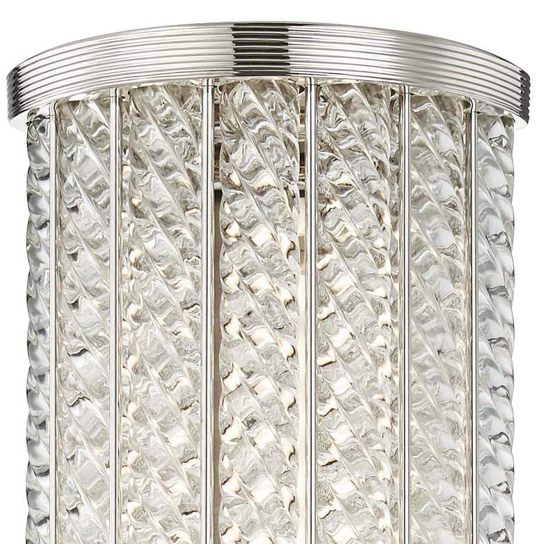 "Hudson Valley Shelby 25""H Polished Nickel LED Wall Sconce more views"