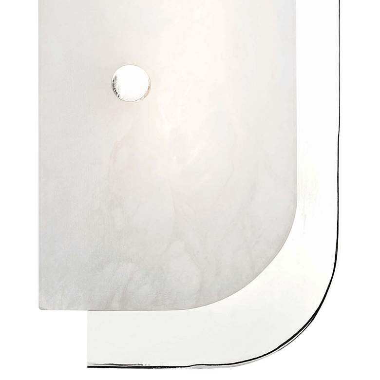 "Hudson Valley Yin and Yang 18 1/2"" High Nickel LED Wall Sconce more views"