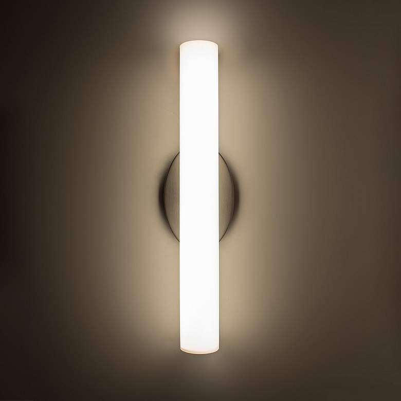 "Modern Forms Loft 18"" Wide Brushed Nickel LED Bath Light more views"