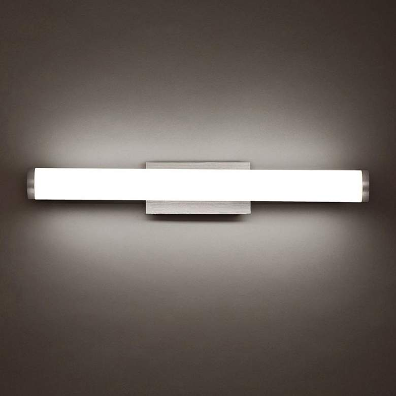 "Modern Forms Sabre 19 1/4""W Brushed Aluminum LED Bath Light more views"