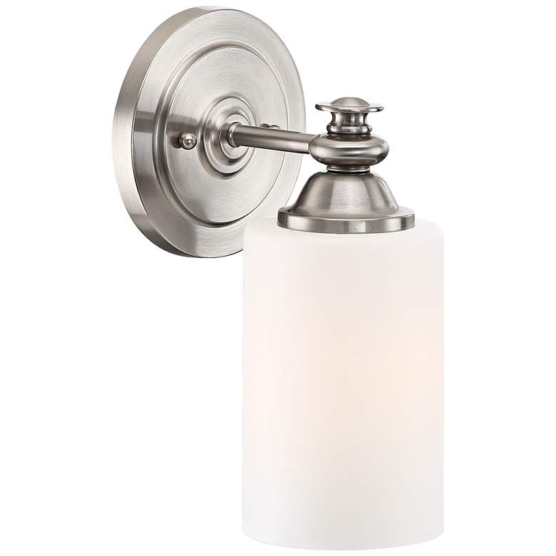 "Craftmade Dardyn 13 1/4"" High Brushed Polished Nickel Sconce more views"
