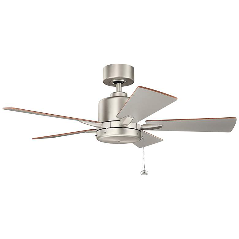 "42"" Kichler Bowen Brushed Nickel Ceiling Fan more views"