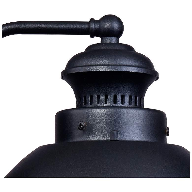 "Fordham 8"" High Black LED Outdoor Wall Light more views"