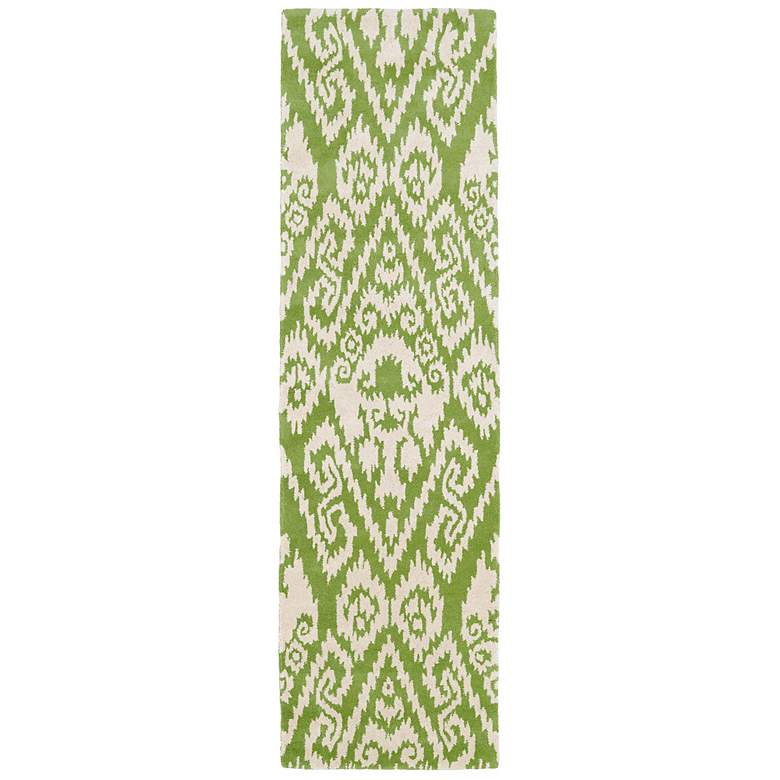 "Kaleen Evolution EVL02-50 5'x7'9"" Green Wool Area Rug more views"