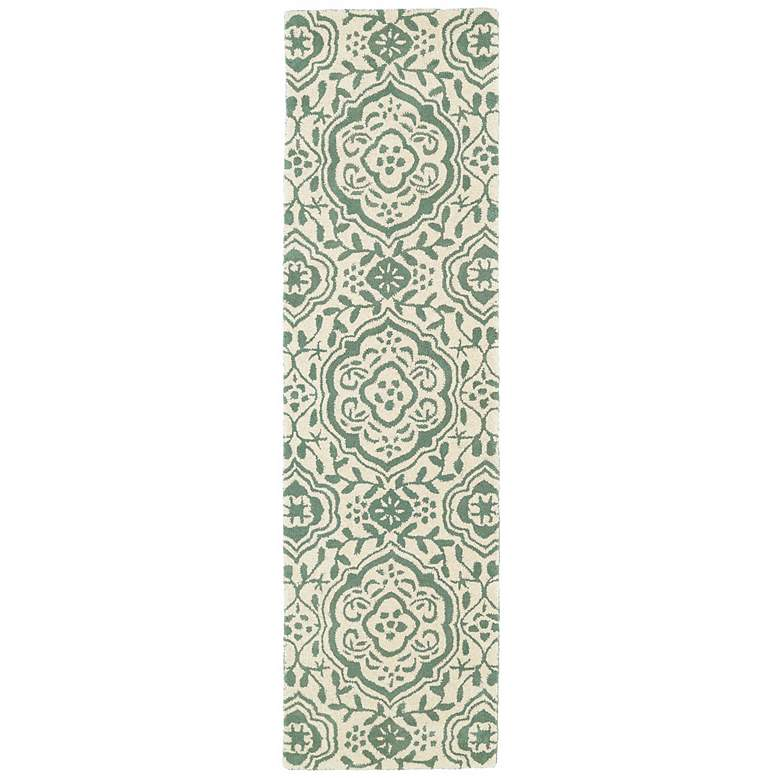 Kaleen Evolution EVL04-88 5'x7'9' Mint Wool Area Rug more views