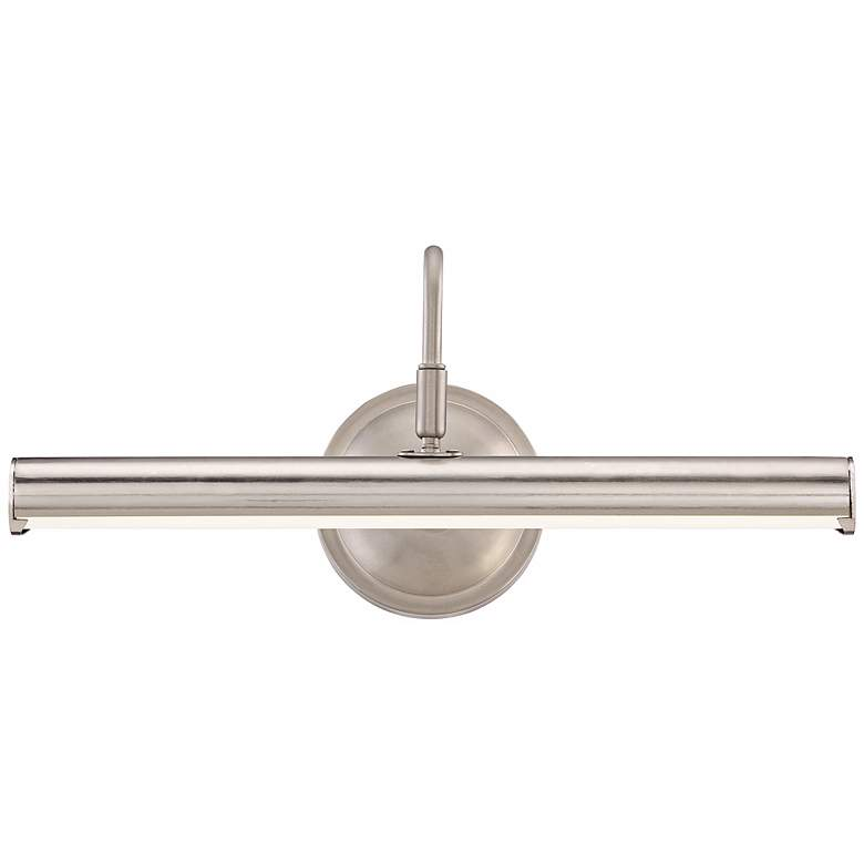 "Renaissance 16"" Wide Polished Nickel LED Picture Light more views"