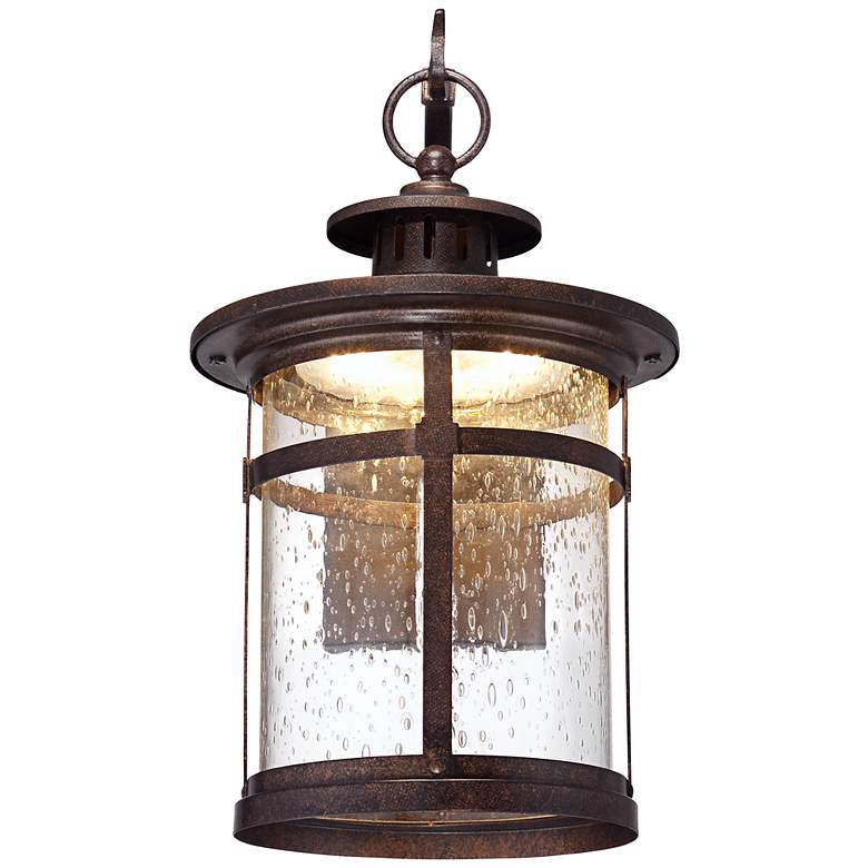 "Callaway 11 1/2"" High Rustic Bronze LED Outdoor Wall Light more views"
