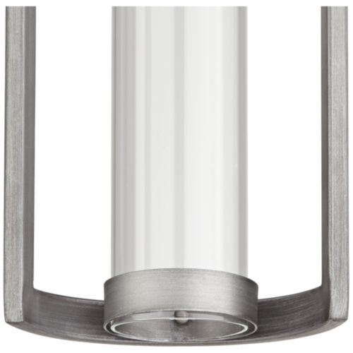 "Maxfield Silver 15"" High LED Outdoor Wall Light"