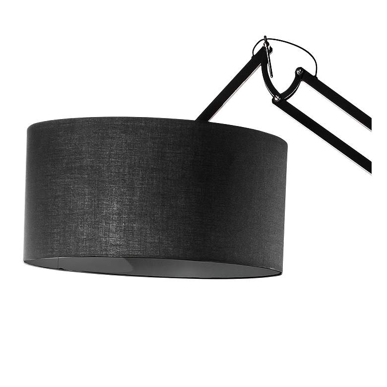 Cornell Black Metal Adjustable Floor Lamp more views