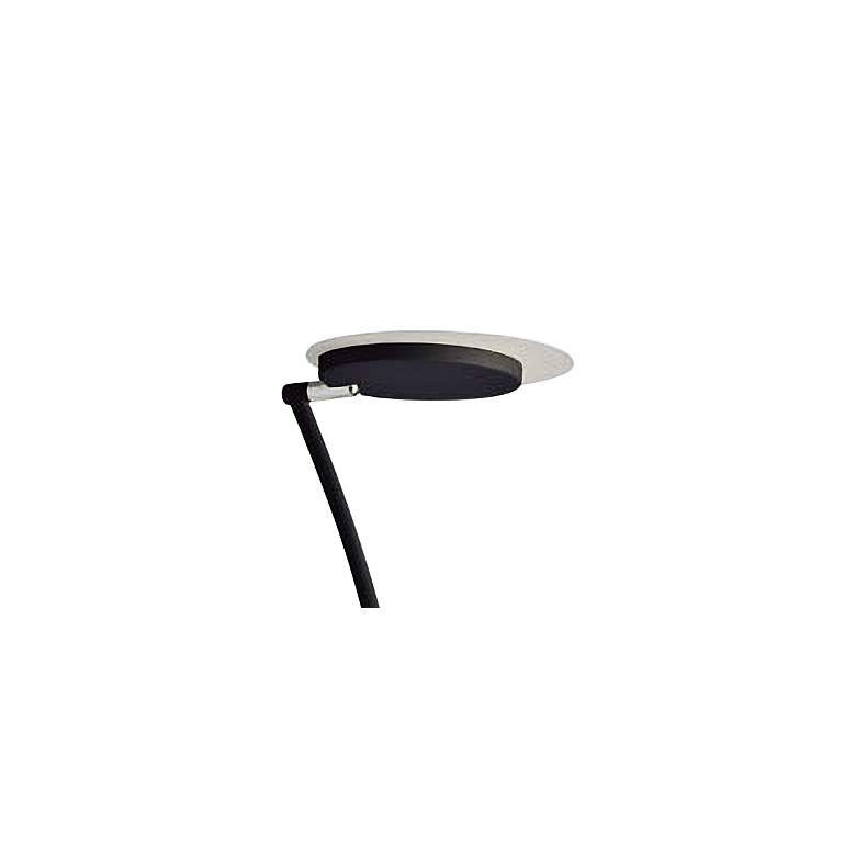 Haven Matte Black Metal LED Torchiere Floor Lamp more views