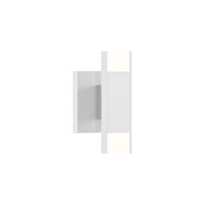 "Sonneman Planes™ 32""H Satin White 2-Light LED Wall Sconce more views"