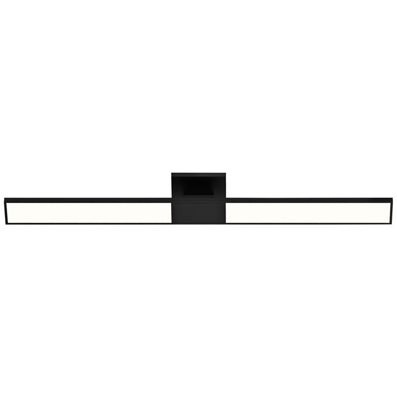 "Planes™ 32"" High Satin Black LED Bath Vanity Light more views"