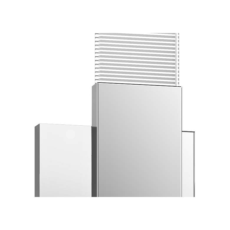 "Radiant Lines™ 15""H Polished Chrome LED Wall Sconce more views"