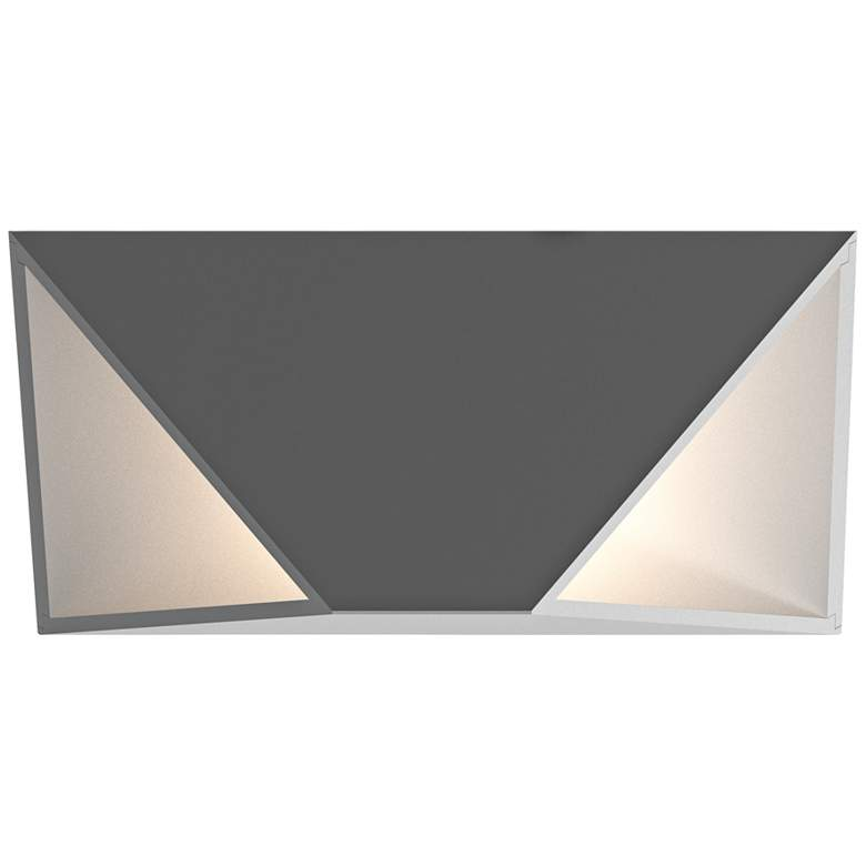 "Inside Out Prisma™ 11"" High Gray LED Outdoor Wall Light more views"