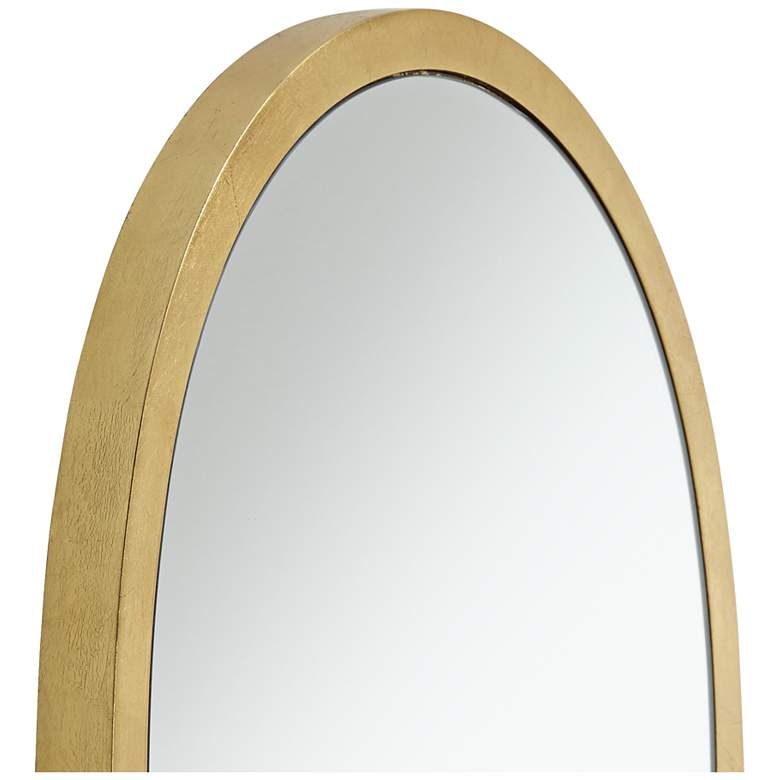 "Trance Gold 20"" x 36"" Oblong Wall Mirror more views"