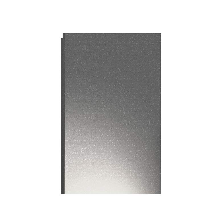 "Inside Out Flat Box 25"" High Gray 2-LED Outdoor Wall Light more views"
