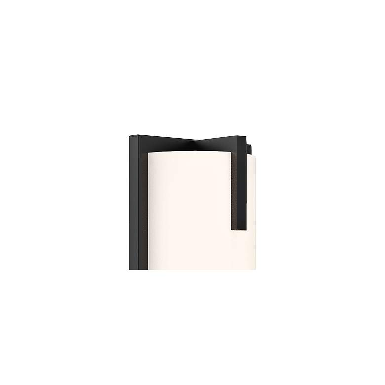 "Sonneman New Edge™ 24"" High Satin Black LED Wall Sconce more views"