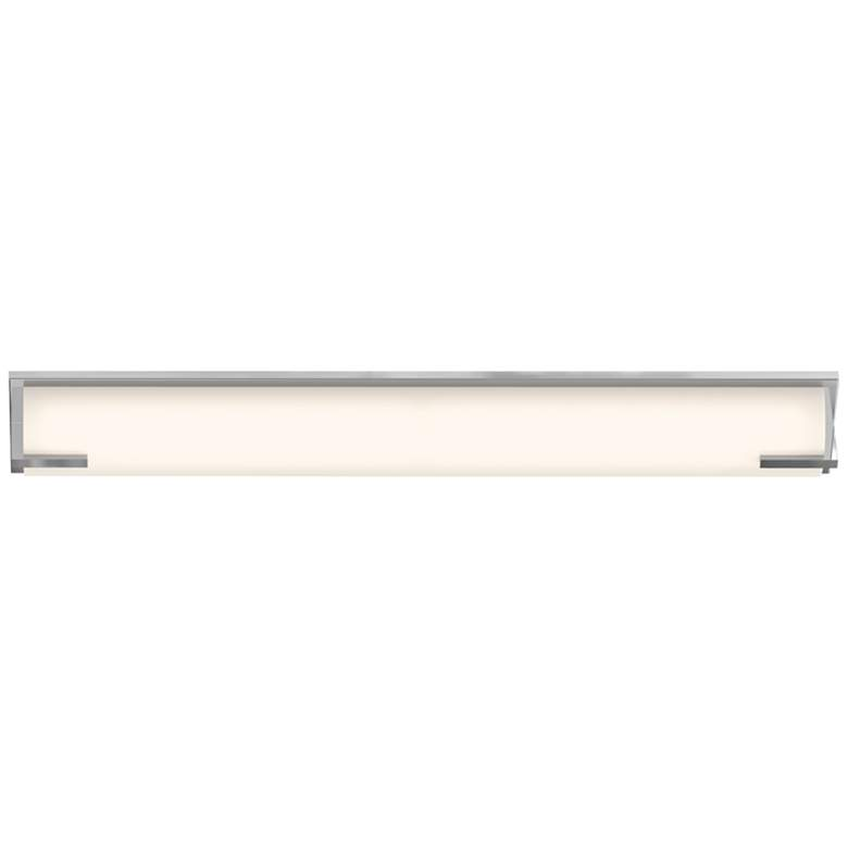"New Edge™ 32"" High Polished Chrome LED Bath Light more views"