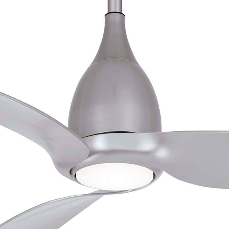 "60"" Minka Aire Tear Silver LED Ceiling Fan more views"