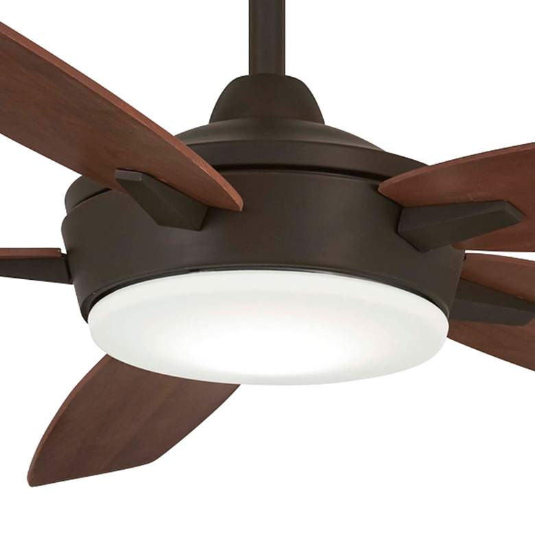 "52"" Minka Aire Espace Oil Rubbed Bronze LED Ceiling Fan more views"