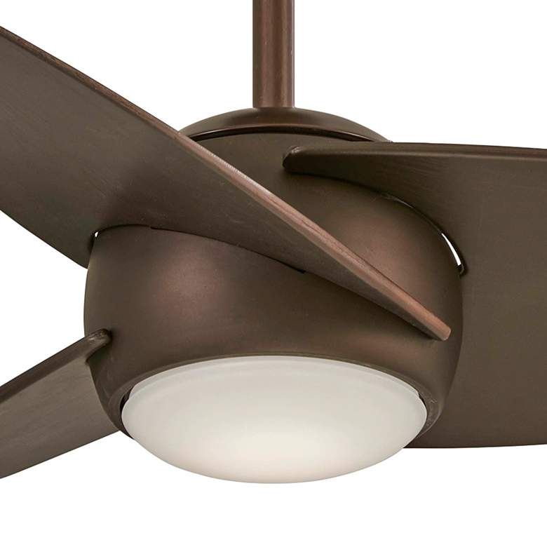 "36"" Minka Aire Slant Oil Rubbed Bronze LED Ceiling Fan more views"