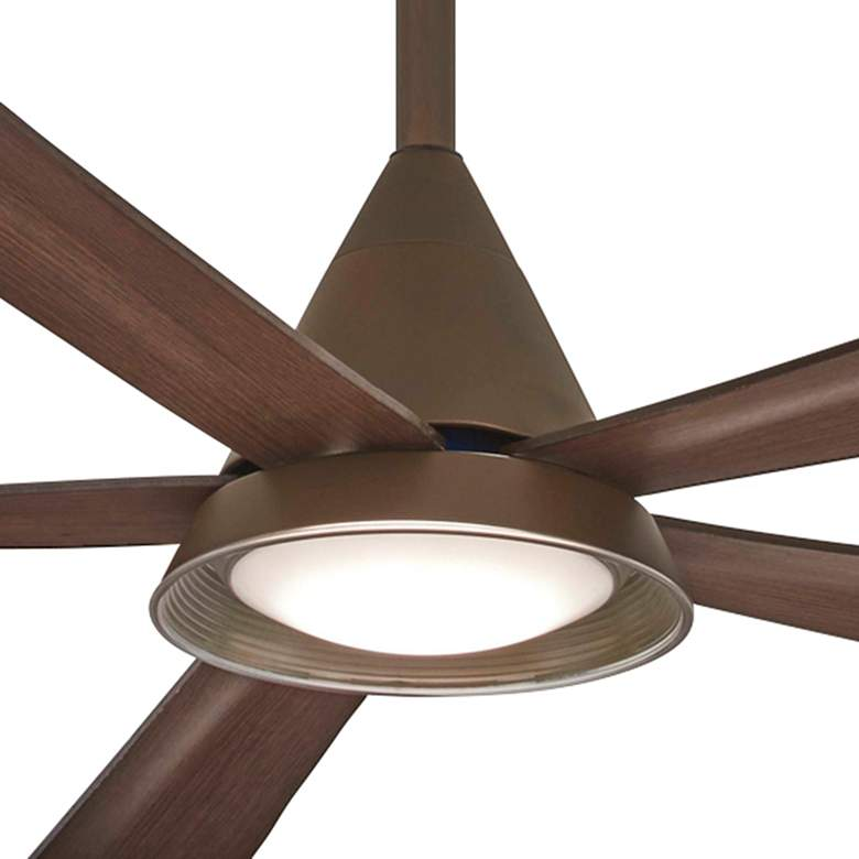 "54"" Minka Aire Cone Oil Rubbed Bronze Wet LED Ceiling Fan more views"