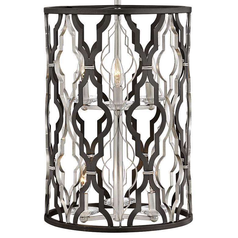 "Portico 14"" Wide Bronze 6-Light Open Pendant Light more views"