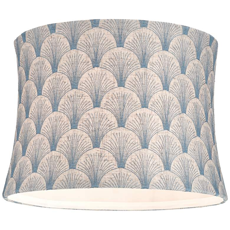 Boden Blue Softback Drum Lamp Shade 13x14x10 (Spider) more views
