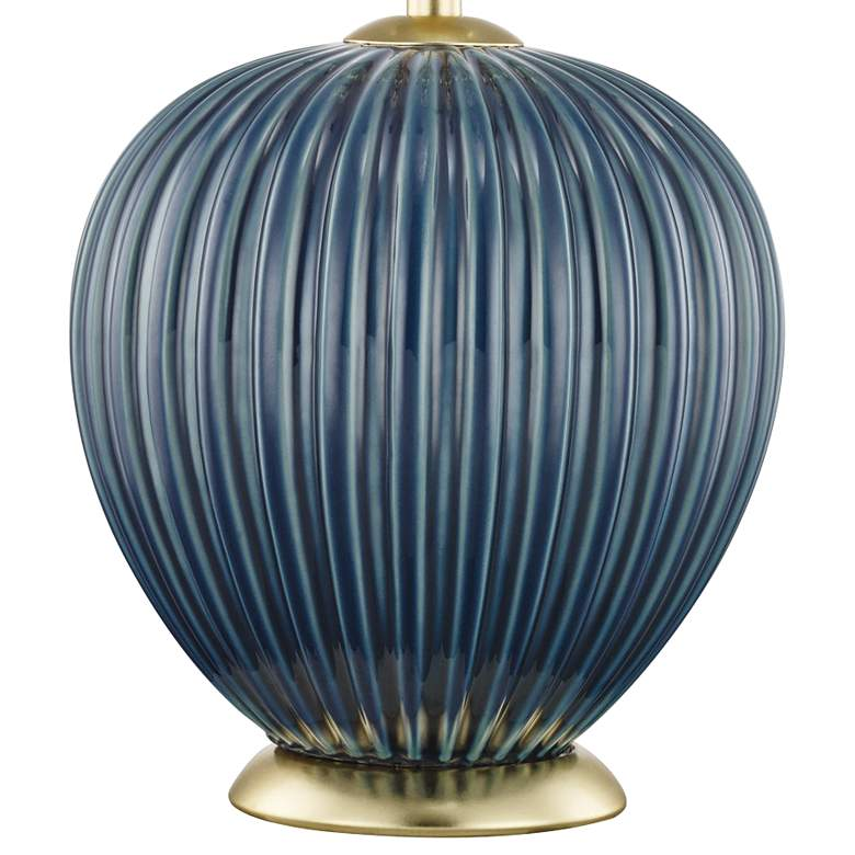 Mitzi Jessa Denim Blue Porcelain Accent Table Lamp more views