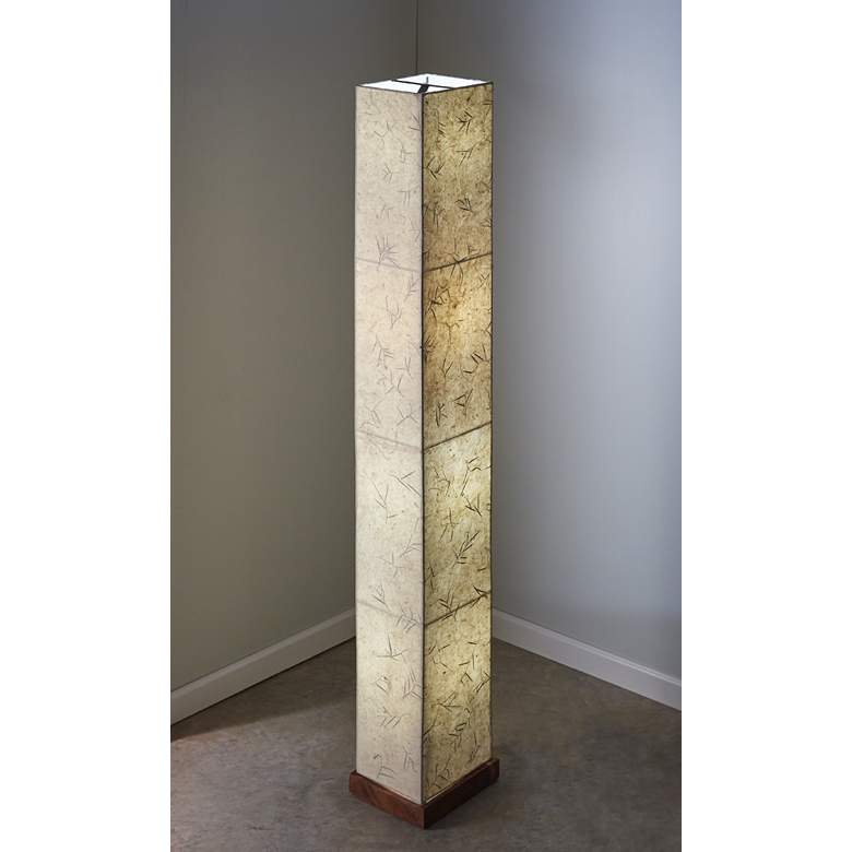 Eangee Paper Tower Giant Bamboo Paper Floor Lamp more views