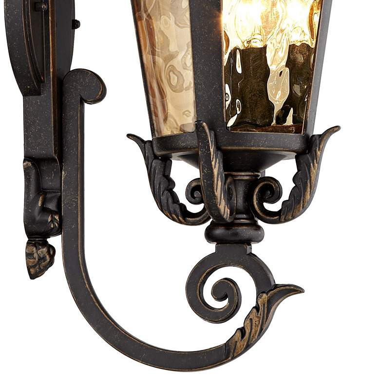 "Casa Marseille™ 21 1/2"" High Bronze Outdoor Wall Light more views"
