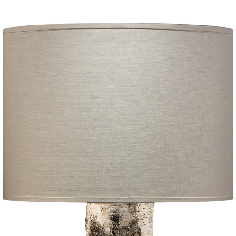Jamie Young Forrester Birch Veneer Cylindrical Floor Lamp more views