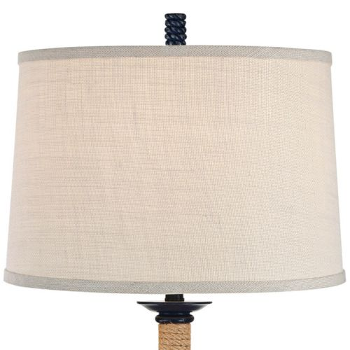 Drew Navy Blue Nautical Floor Lamp