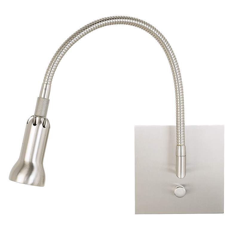 Holtkoetter Satin Nickel Halogen Wall Light more views