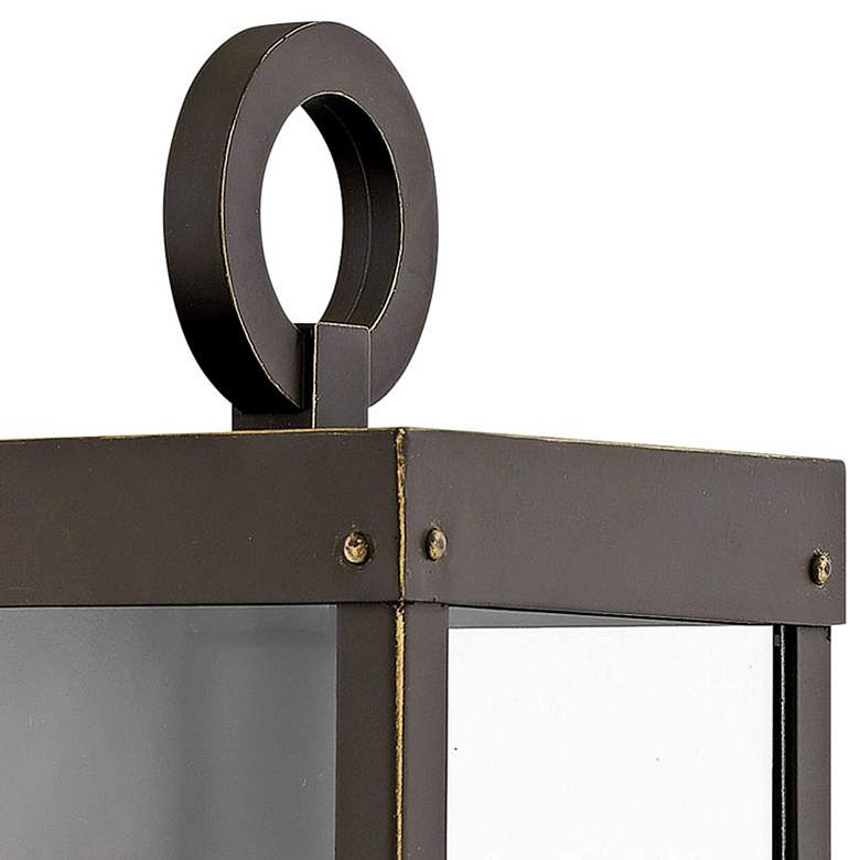 "Hinkley Porter 13"" High Oil-Rubbed Bronze Outdoor Wall Light more views"