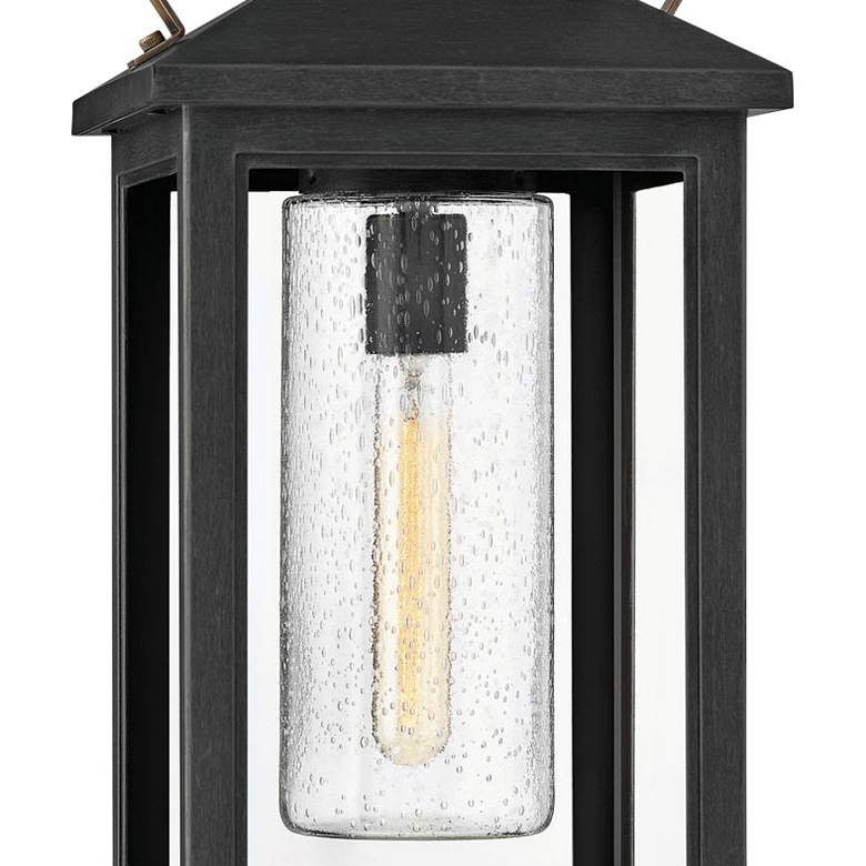 "Hinkley Atwater 21 1/2"" High Black Outdoor Hanging Light more views"