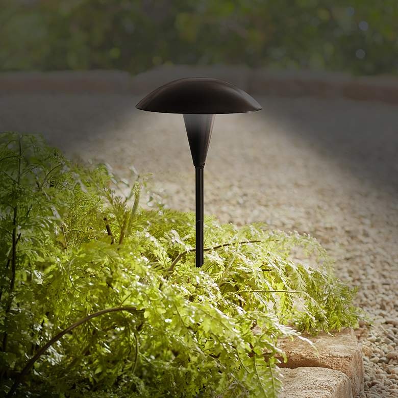 Mushroom Bronze 8-Piece Outdoor LED Landscape Lighting Set more views