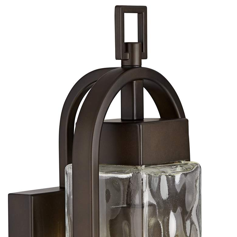 "Winona 16 1/4"" High Bronze Outdoor Wall Light more views"
