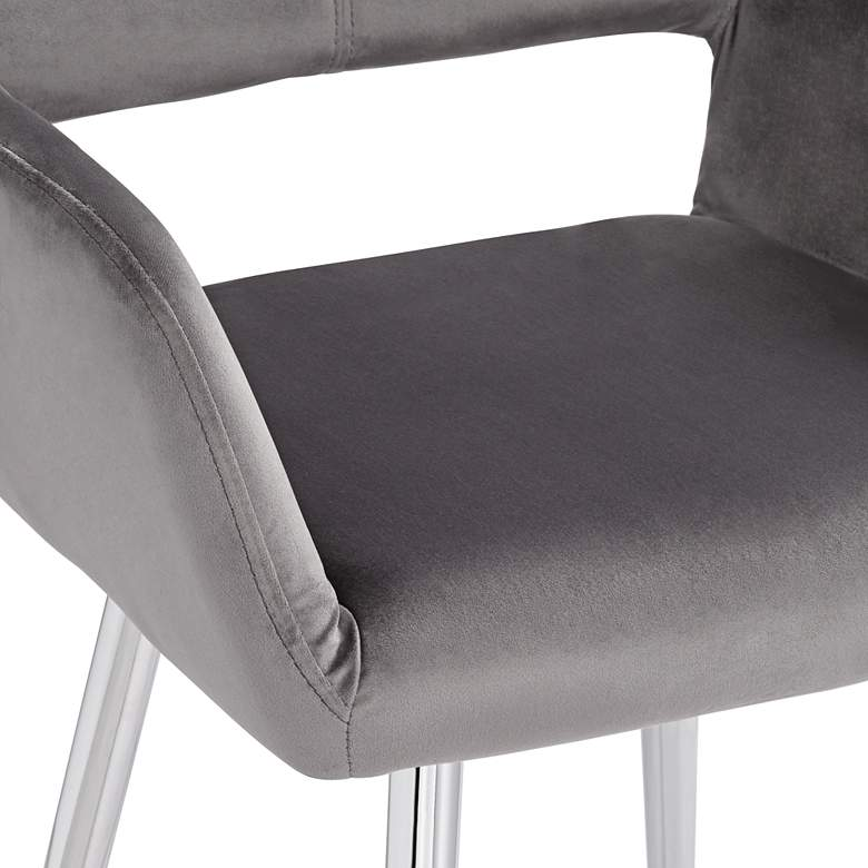 Martin Gray Fabric Dining Chair more views