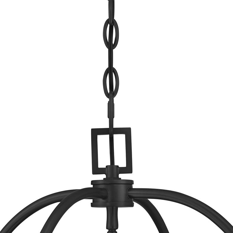 "Bourne 16"" Wide 4-Light Bronze Entry Pendant Light more views"