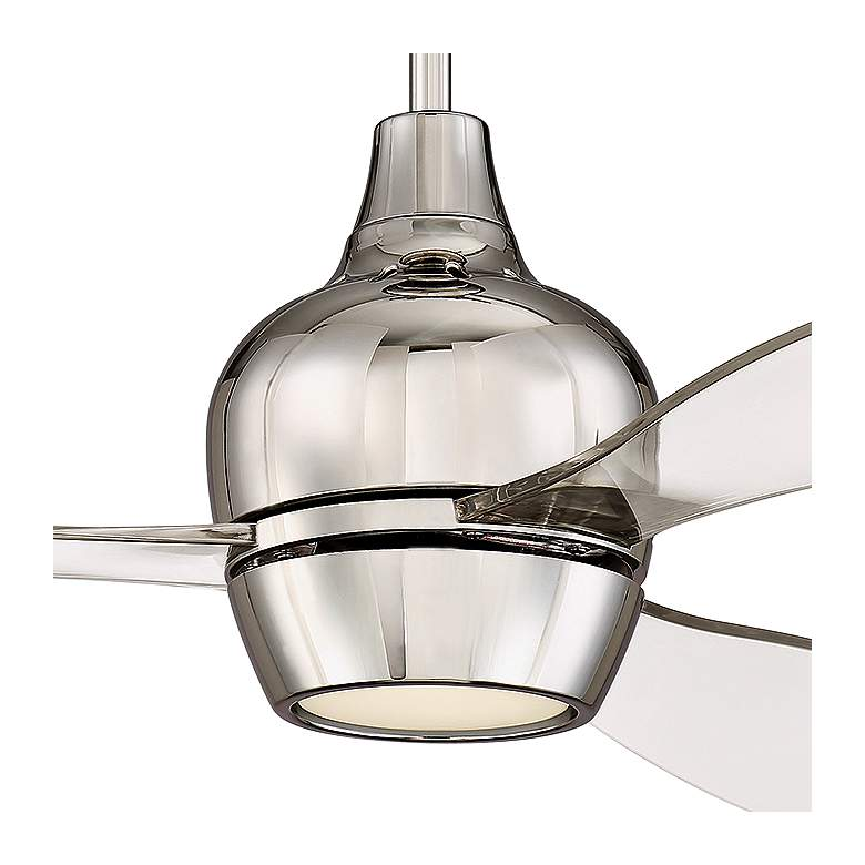 "52"" Craftmade Bordeaux Polished Nickel LED Ceiling Fan more views"