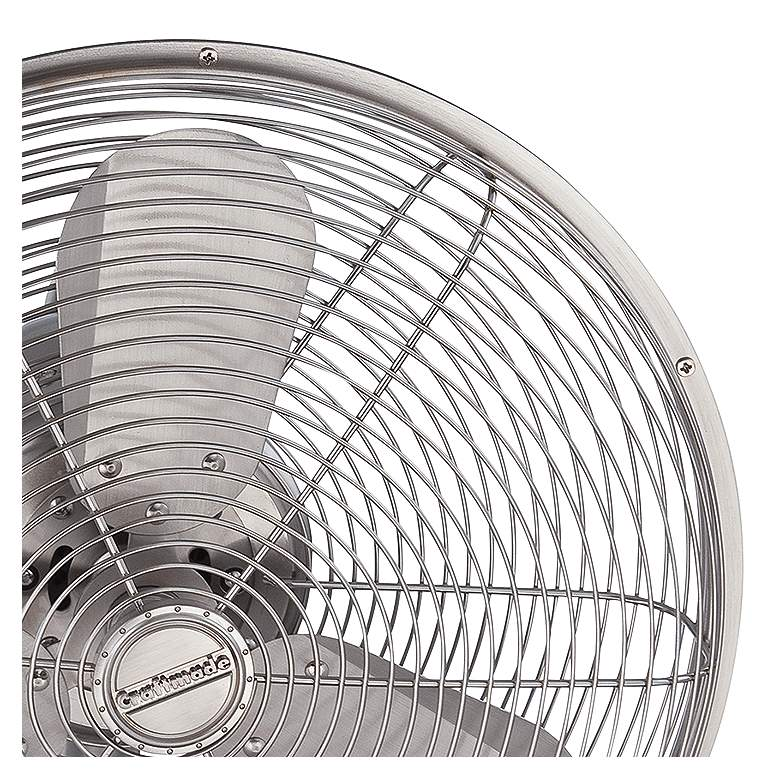"14"" Craftmade Bellows I Polished Nickel Damp Wall Fan more views"