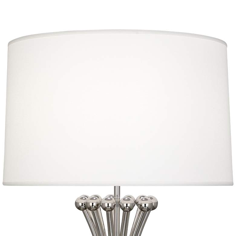 Jonathan Adler Polished Nickel Metal Table Lamp more views