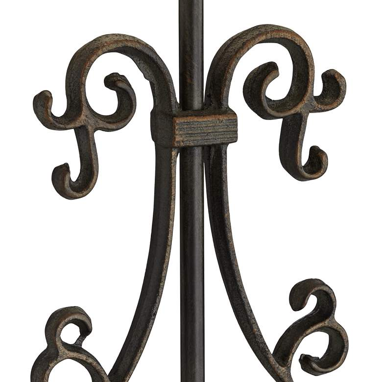Beale Iron Scroll Table Lamp more views
