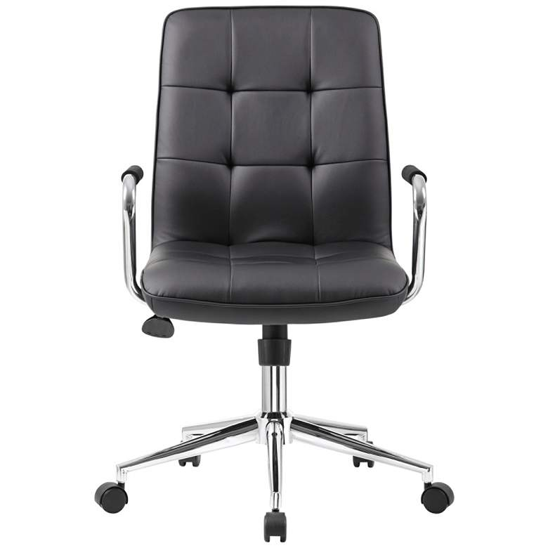 Boss Modern Black CaressoftPlus Adjustable Office Chair more views