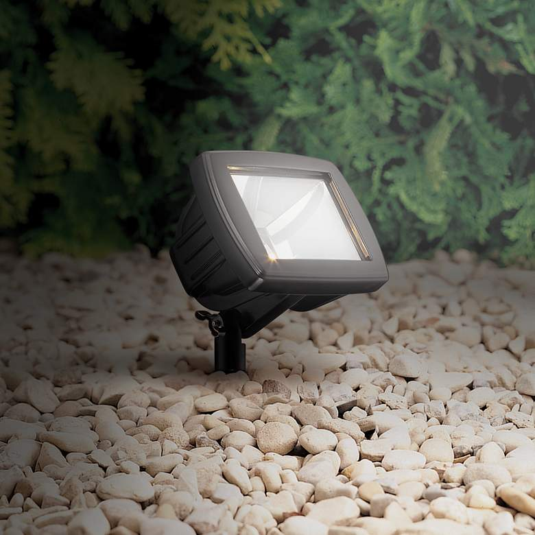 Black LED Flood Light Landscape Kit more views