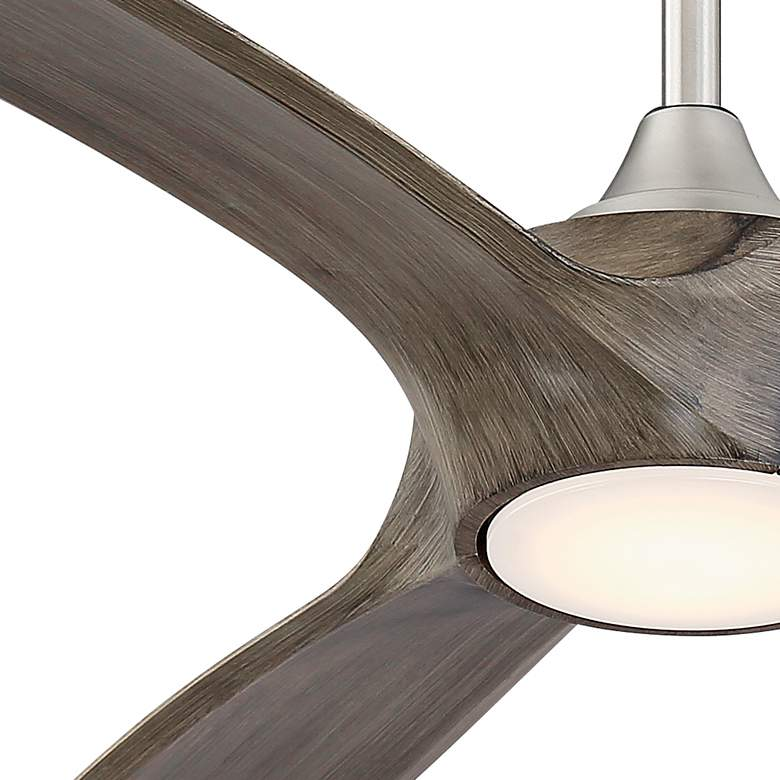 "60"" Casa Vieja Padera Brushed Nickel LED Ceiling Fan more views"