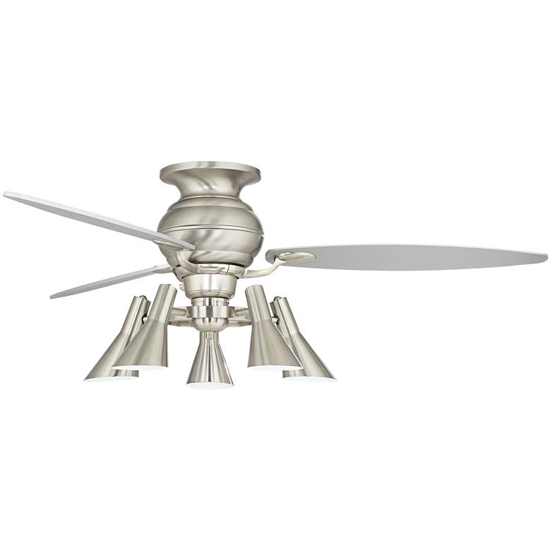 "60"" Spyder Hugger Silver Retro 5-Light LED Ceiling Fan more views"